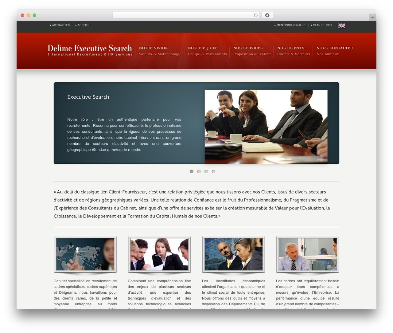 Karma WordPress theme - delimeexecutivesearch.fr | WordPress Themes ...