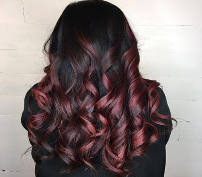 Wine Red Shades Make A Splash As A Hair Colour Trend