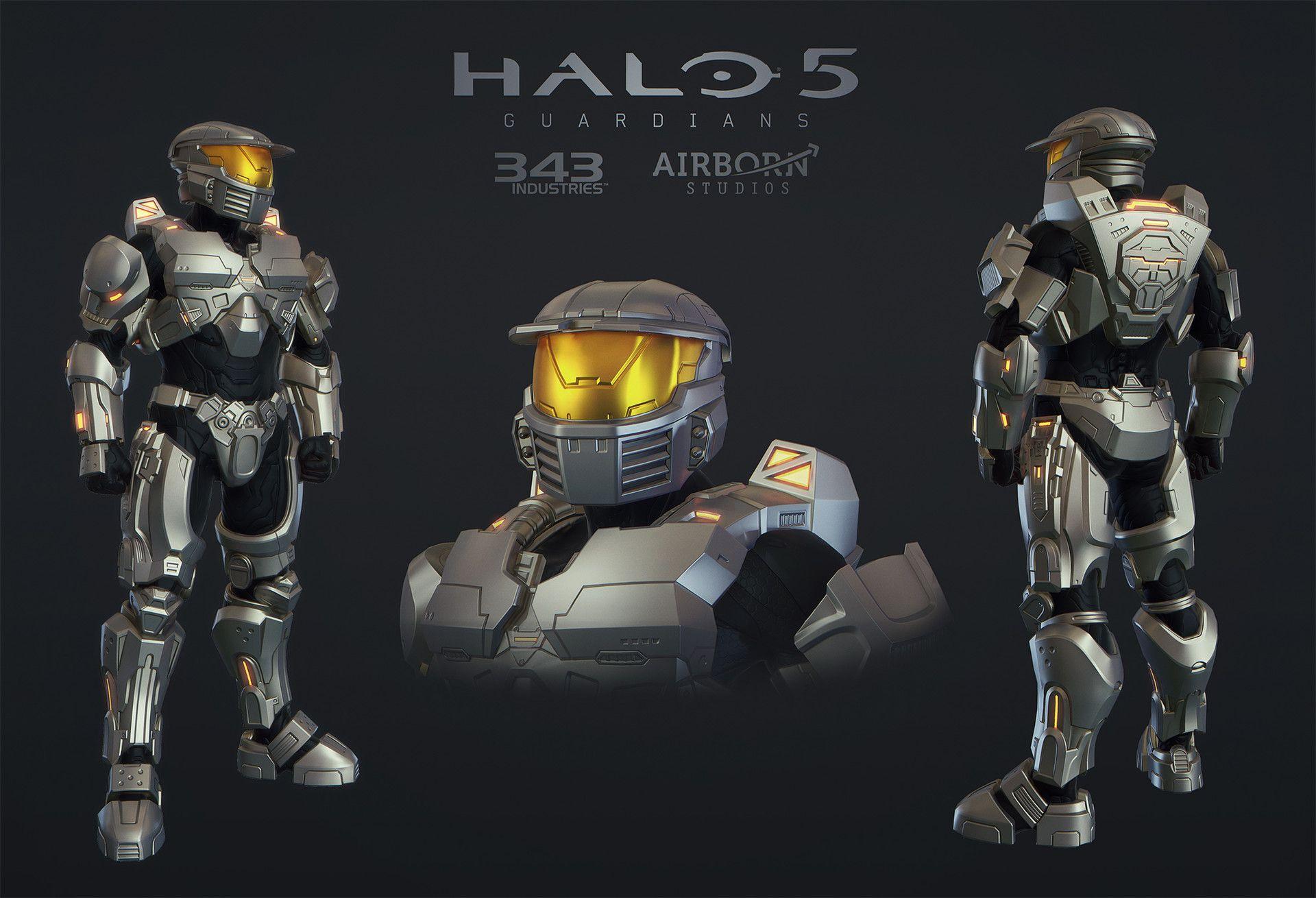 ArtStation - Halo 5 Multiplayer Armor MARK IV [GEN1], Airborn