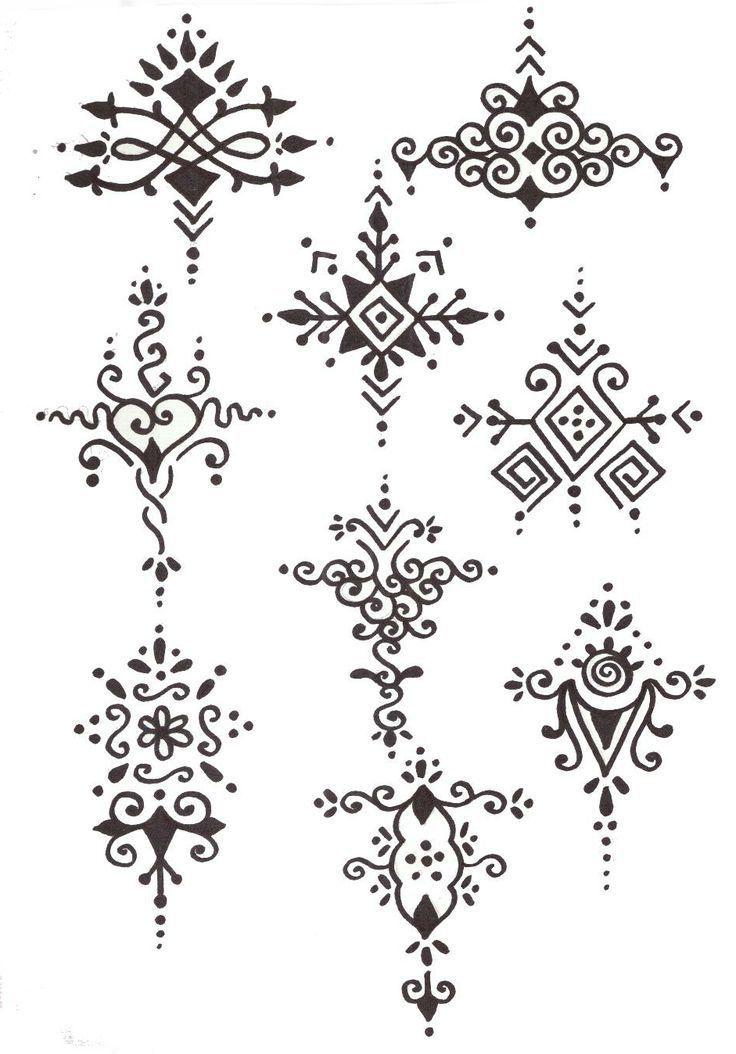 Wrist Henna Tattoo Outlines: Pin About Henna, Beginner Henna Designs And Henna Designs