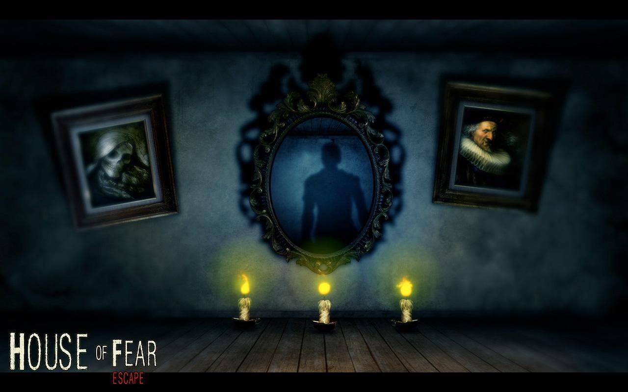 Дом страха картинки играть