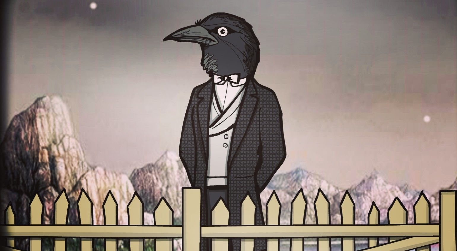 Rusty Lake Roots mr. Crow in 2020 | Lake, Lake art, Lake hotel