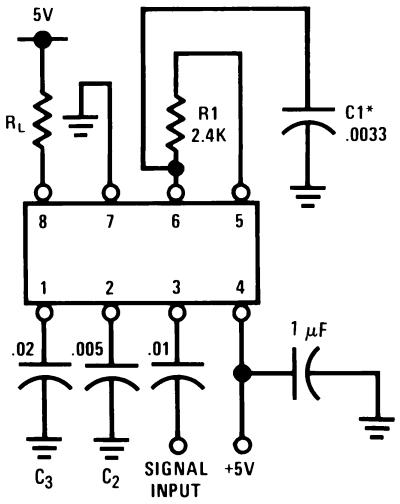 basic circuit of lm567