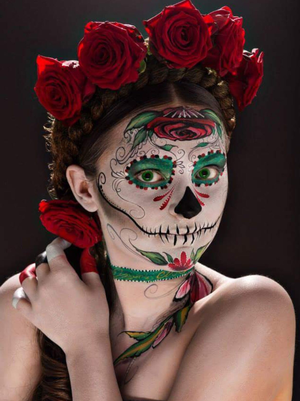 Pin by Jessy Angel on Día de Muertos Halloween face