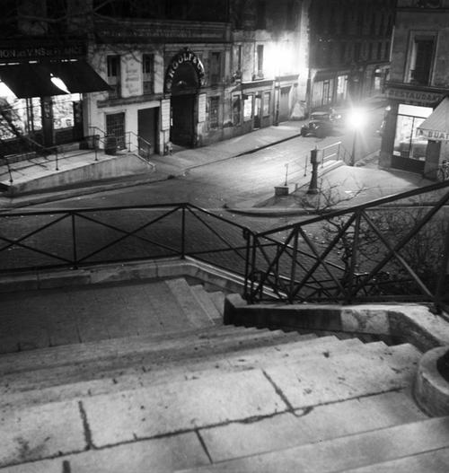 Pierre Jahan      Escalier près du Canal St Martin, Paris      1937