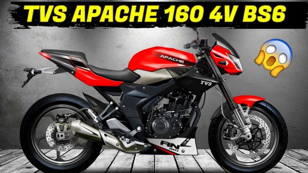 Tvs Apache 160 4v Bs6 New Model 2019 Launch Soon In India New
