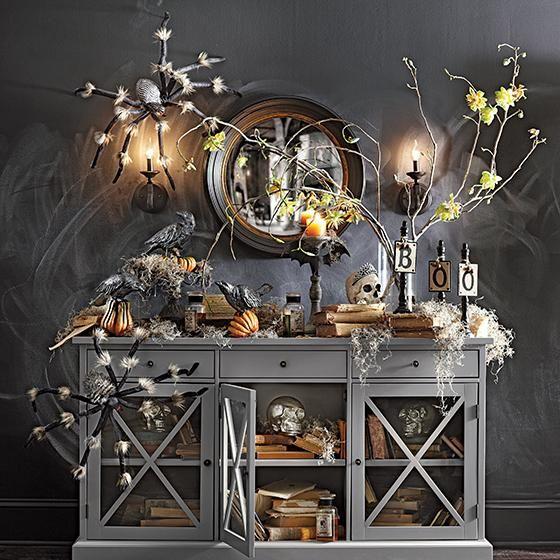 halloween decorating ideas - Chic Halloween Decor