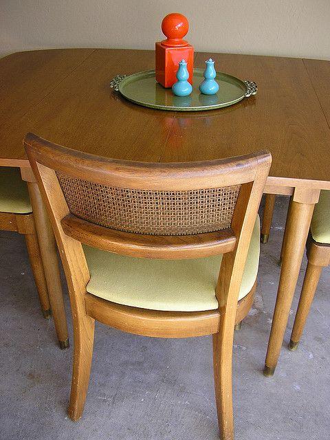 Strange Drexel Biscayne Dining Set Mid Century Modern Home Dailytribune Chair Design For Home Dailytribuneorg