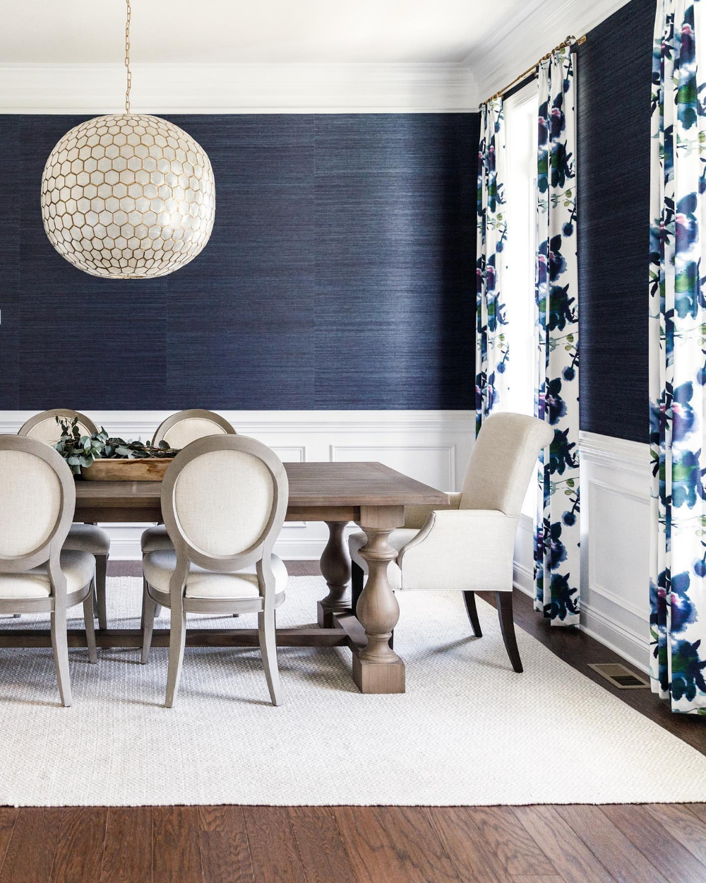 Grasscloth Wallcovering in 2020 | Dining room accents ...