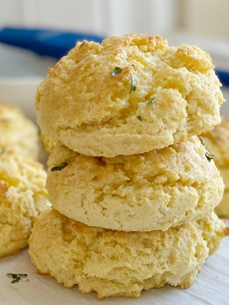 Cornbread Biscuits Are Easy Drop Biscuits That Can Be Made In Just Minutes Butter And Sour Cream Make The In 2020 Drop Biscuits Delicious Bread Homemade Drop Biscuits