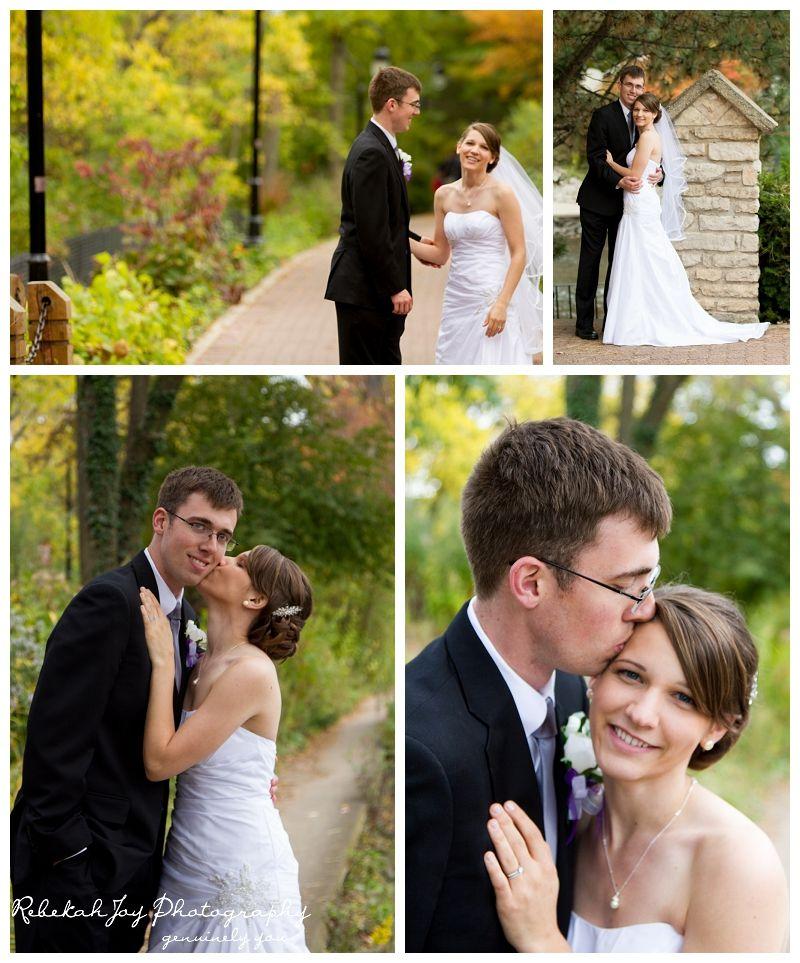 Kristin And Ryan Naperville Il Wedding Riverwalk Rebekah Joy Photography