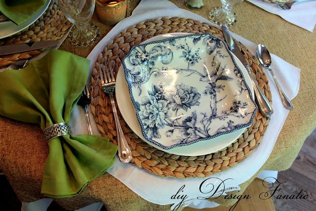 Tablescape, Spring table