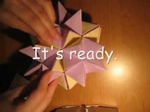 Origami revealed flower ball tutorial youtube projekty do origami revealed flower ball tutorial youtube mightylinksfo
