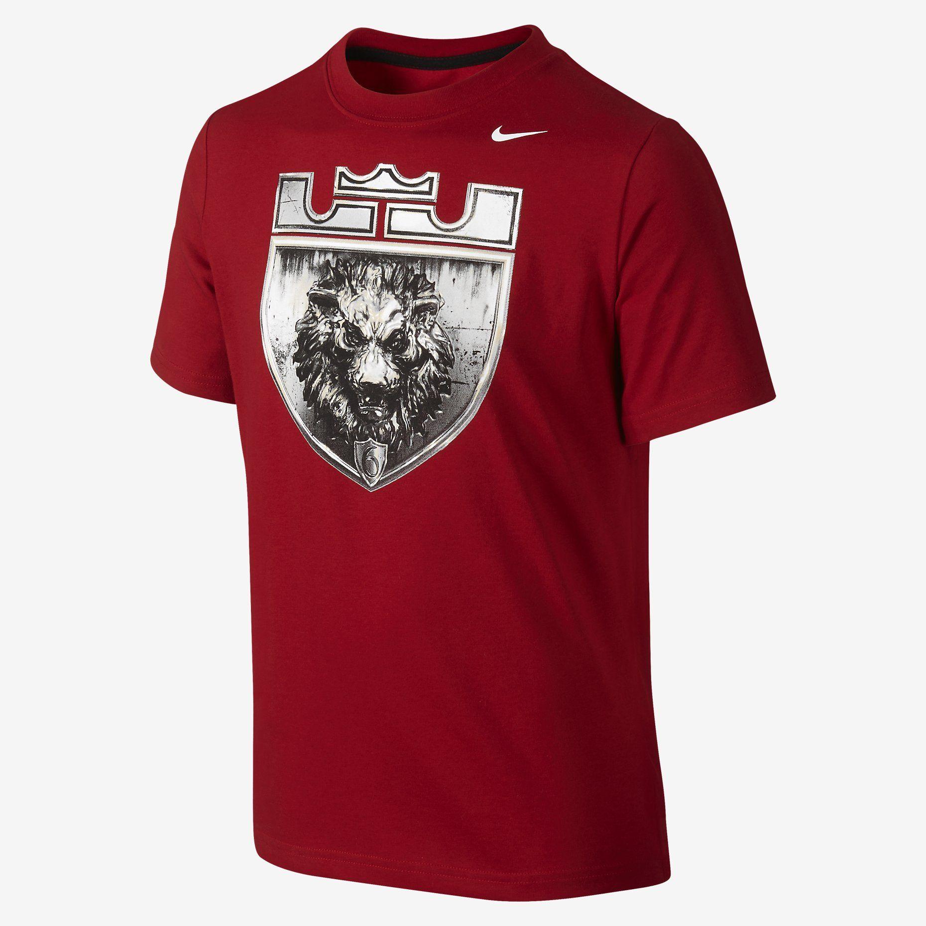 Design t shirt nike - Lebron Logo Boys T Shirt Nike Store