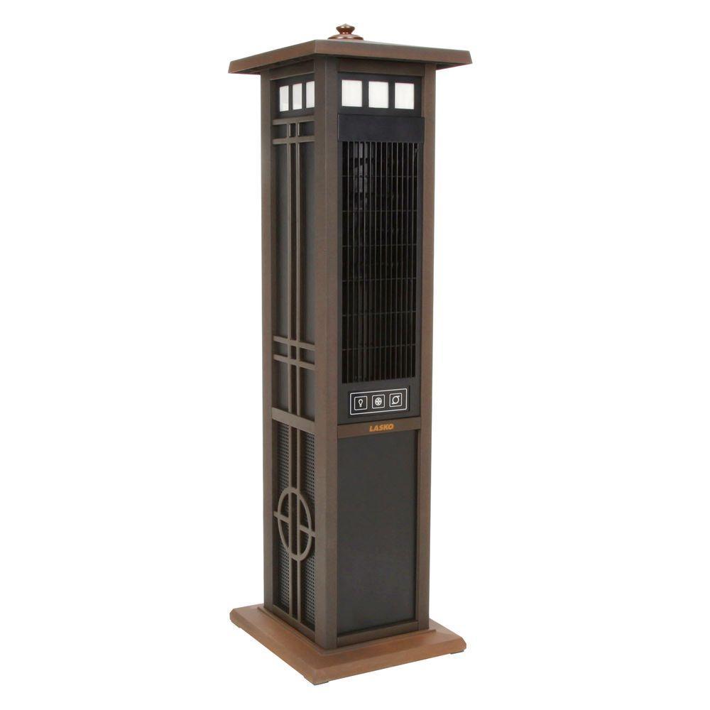 Lasko Elegant 50 In 3 Speed Outdoor Fan With Remote Control 4890 The Home Depot Outdoor Fan Lasko Outdoor Comfort
