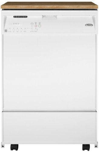 Whirlpool Dp940pwsq 24in Portable Dishwasher With 5 Cycles White