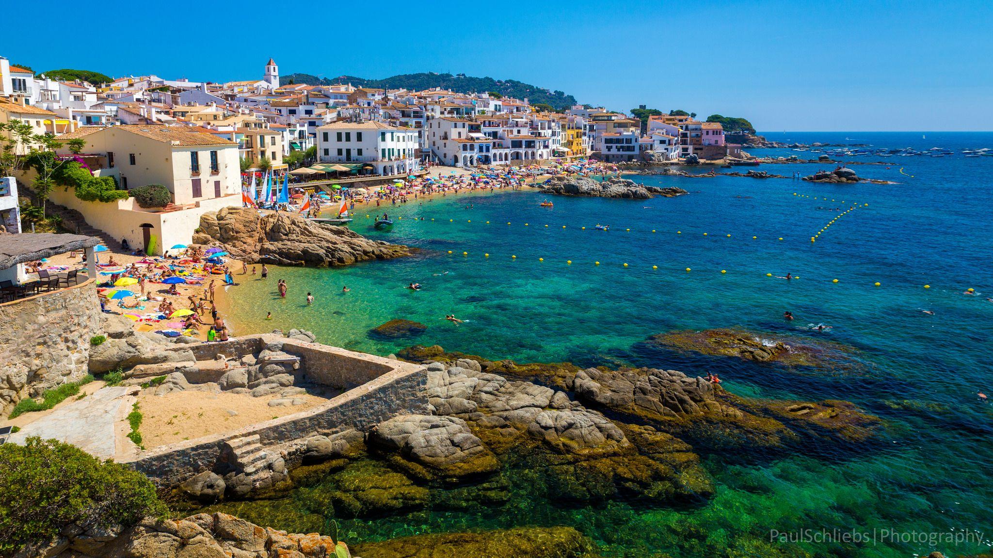 Calella de Palafrugell, Costa Brava, Spain Spain travel