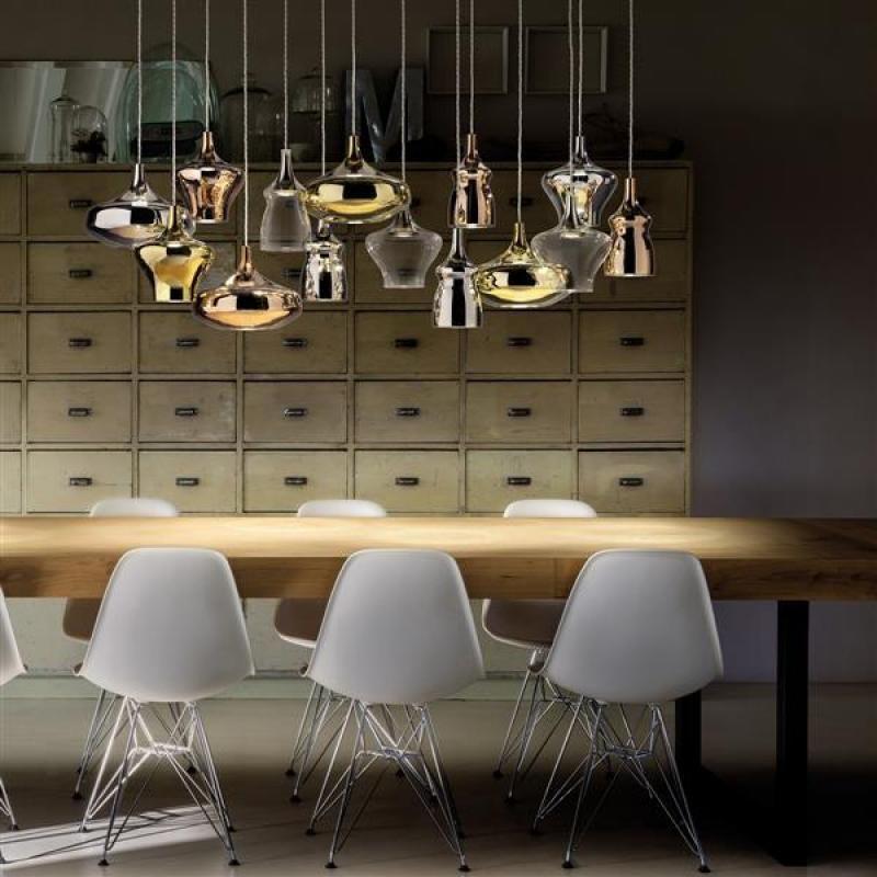 Studio Italia Design NOSTALGIA LED-Pendelleuchte, 3-flammig | Empor.de