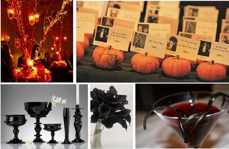 halloween wedding centerpieces eerie halloween wedding ideas rh pinterest com  halloween weddings decor ideas