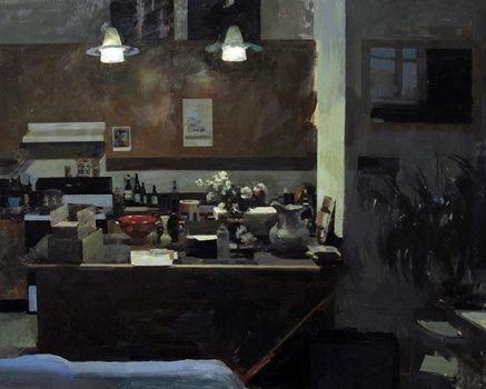 ARTIST: Hollis Dunlap MEDIUM: oil on panel