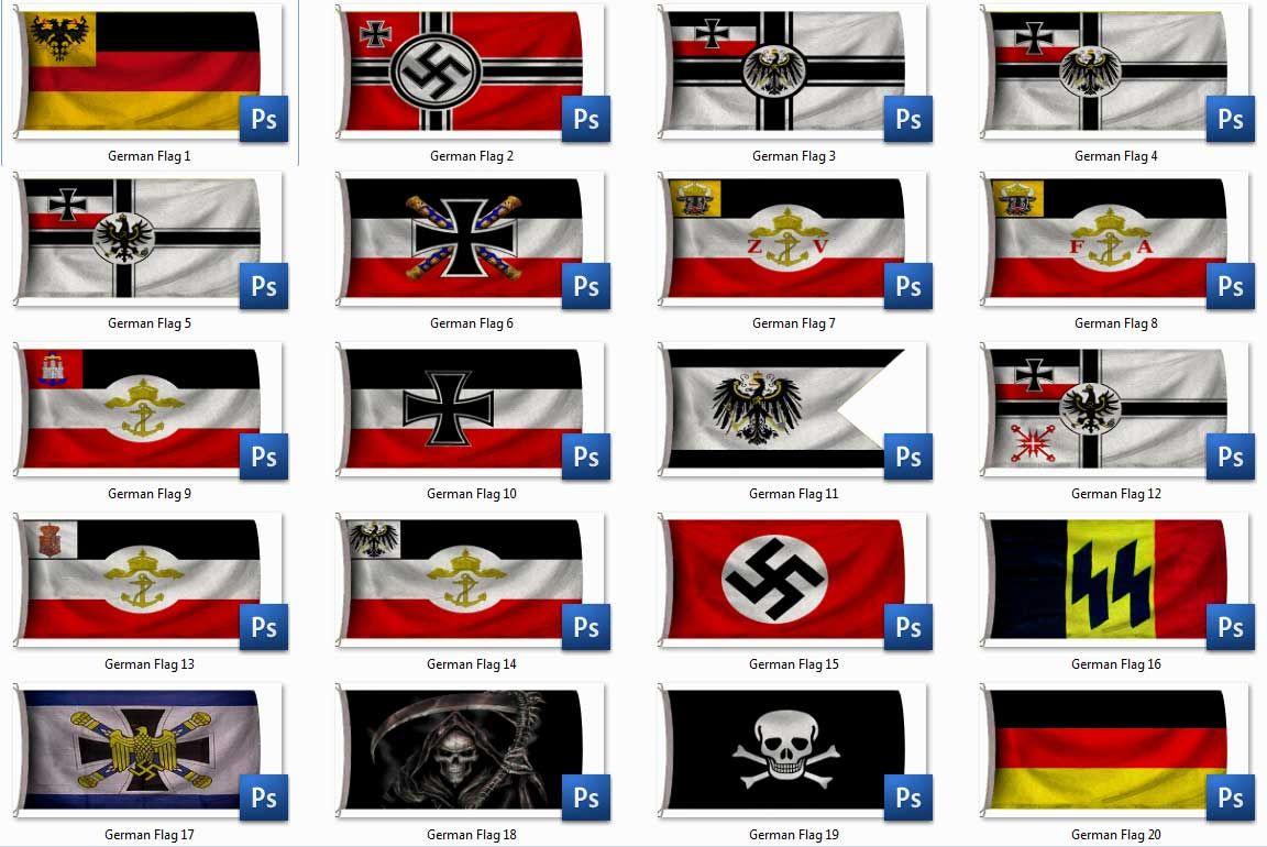 ww2 german flags - Google Search | banderas | Banderas