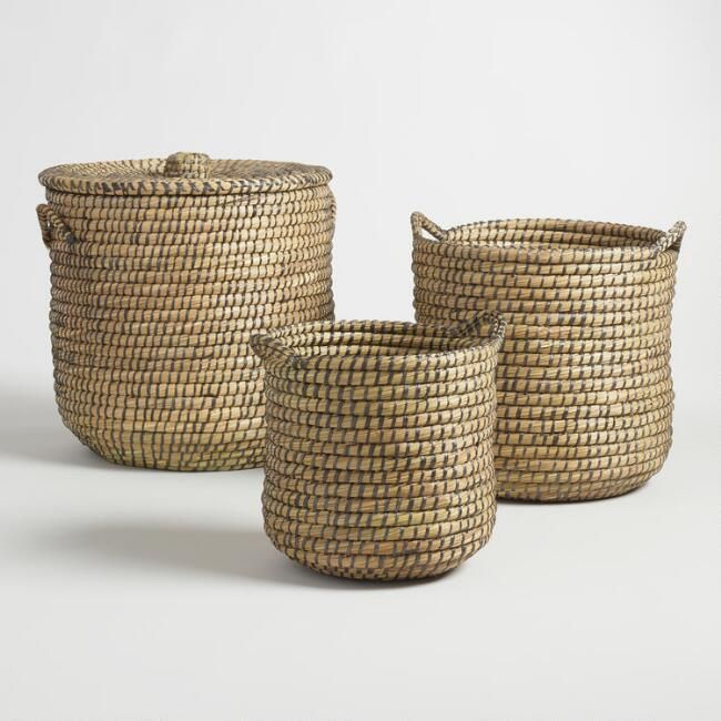 Cost Plus World Markwet - Large $39.99 Espresso Seagrass Patricia ...