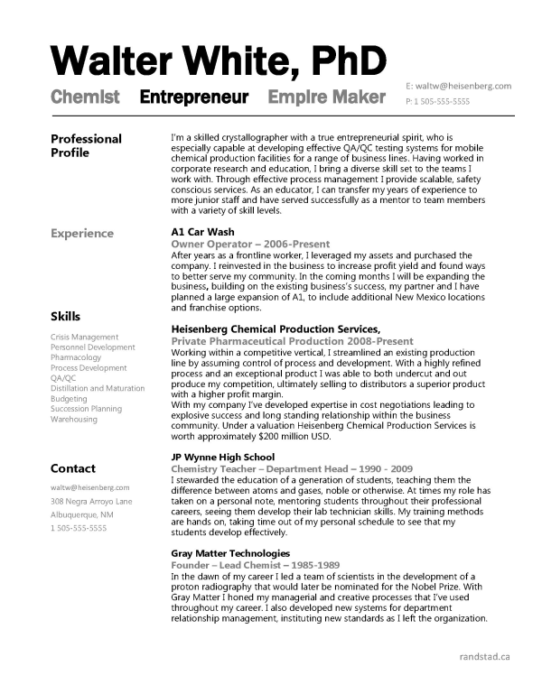 Amazing Discover Ideas About Free Resume Samples. Professional Chemist ...