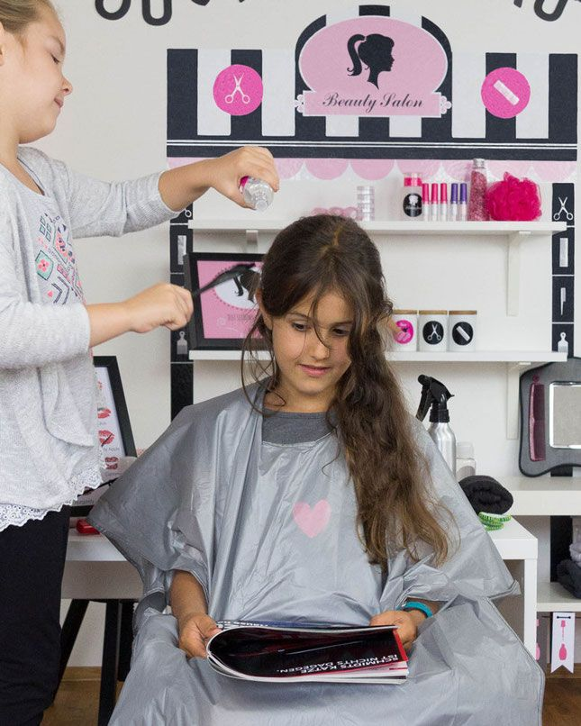 ikea hacks und kinderzimmerideen mdchen lieben rollenspiele mit dem limmaland stickerbogen beauty salon