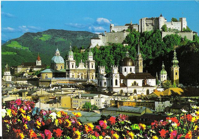Salzburg (Austria)  So beautiful and one of my favorite vacations for sure!