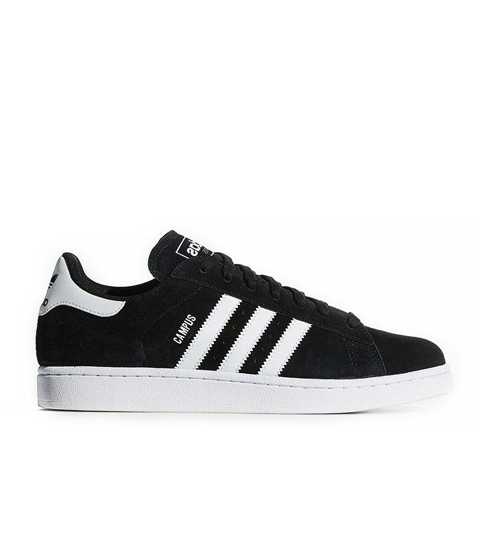 ... best service 48683 96e8a Adidas Campus 2.0 Shoes in Black and White ... b8f066c2e0b6