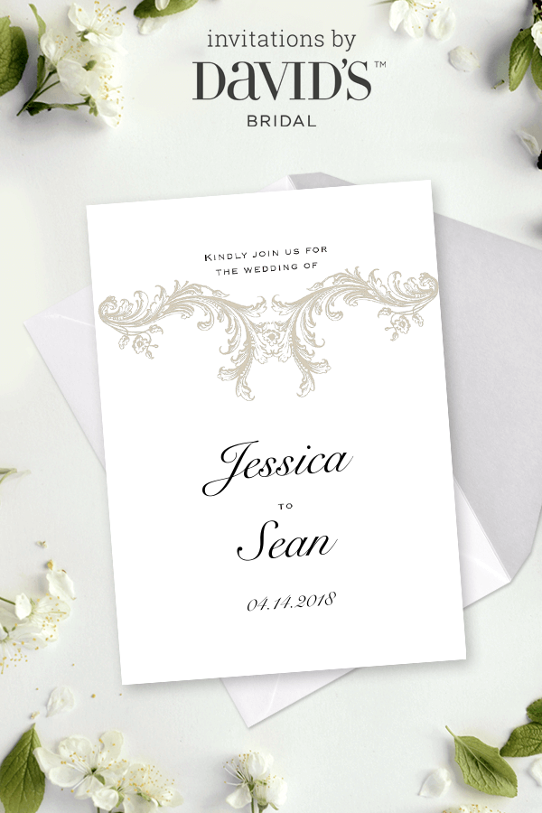 you re invited design tailored to you wedding invitations at
