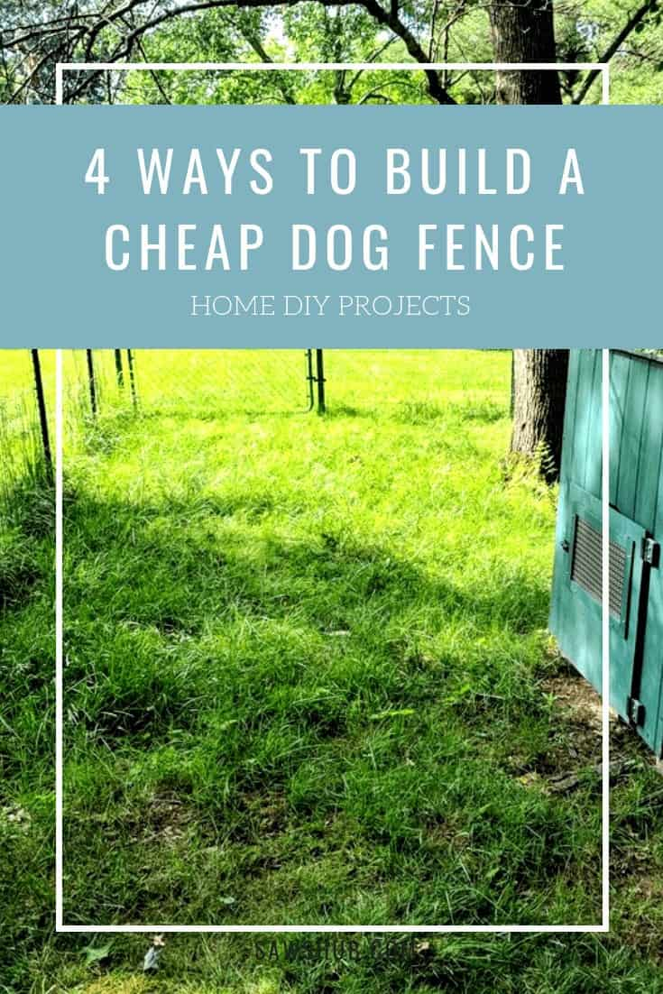 how to build a dog fence for cheap in 2020 dog fence on inexpensive way to build a wood privacy fence diy guide for 2020 id=68274