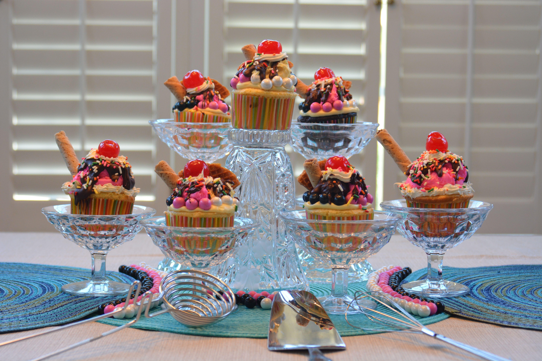 ice cream float cupcakes | Ice cream floats, Cake ...  |Ice Cream Float Cake