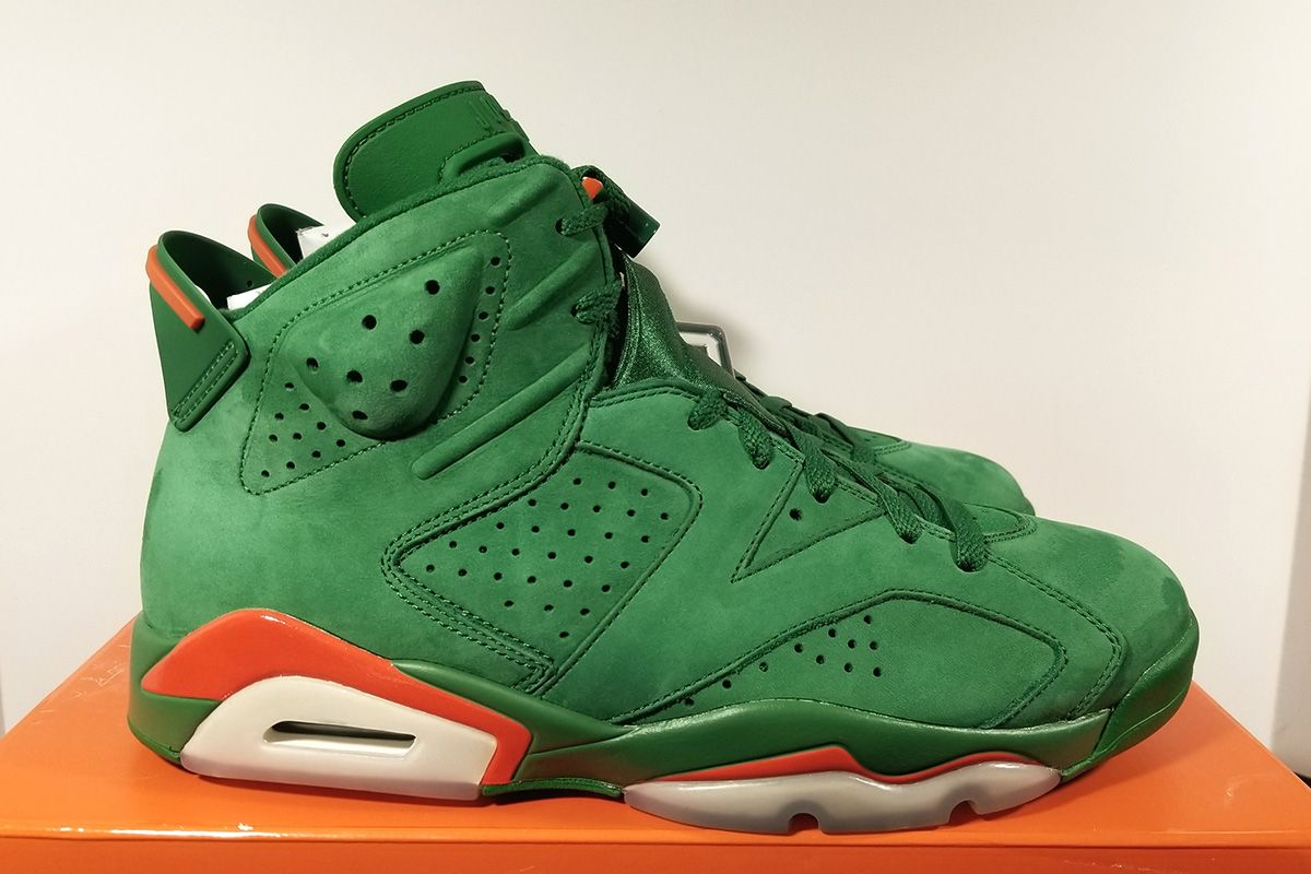 "682ecf22f5f Air Jordan 6 Retro NRG ""Gatorade"" Pine Green Edition - EU Kicks Sneaker  Magazine"