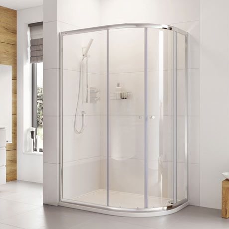 Roman Haven 1900mm Two Door Offset Quadrant Shower
