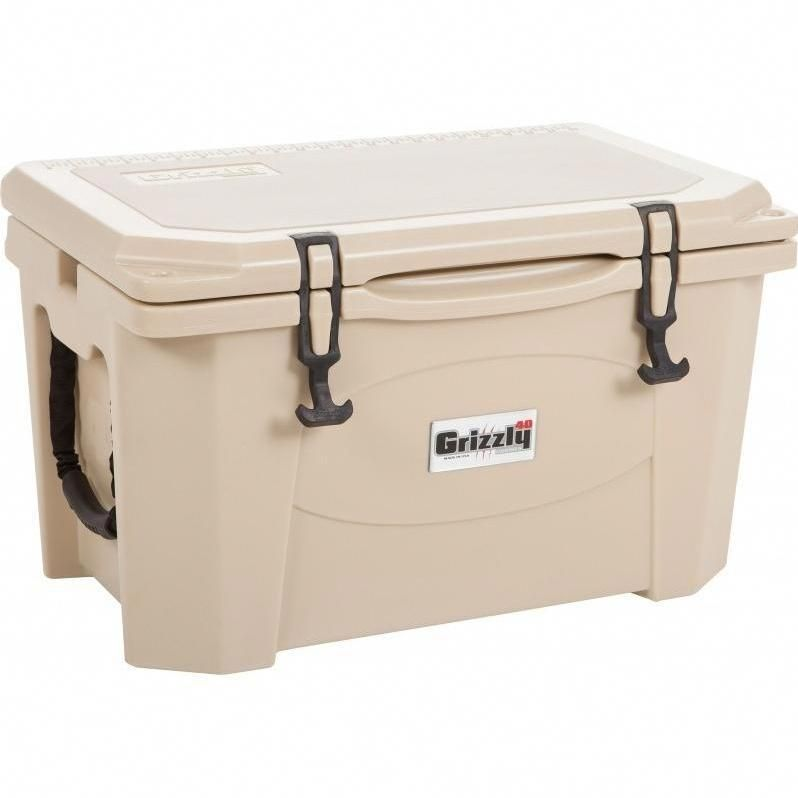 Grizzly Coolers 40 Quart Ice Chest Tan Irp 9080 Tan Coolers Like Yeti Cooler Ice Chest