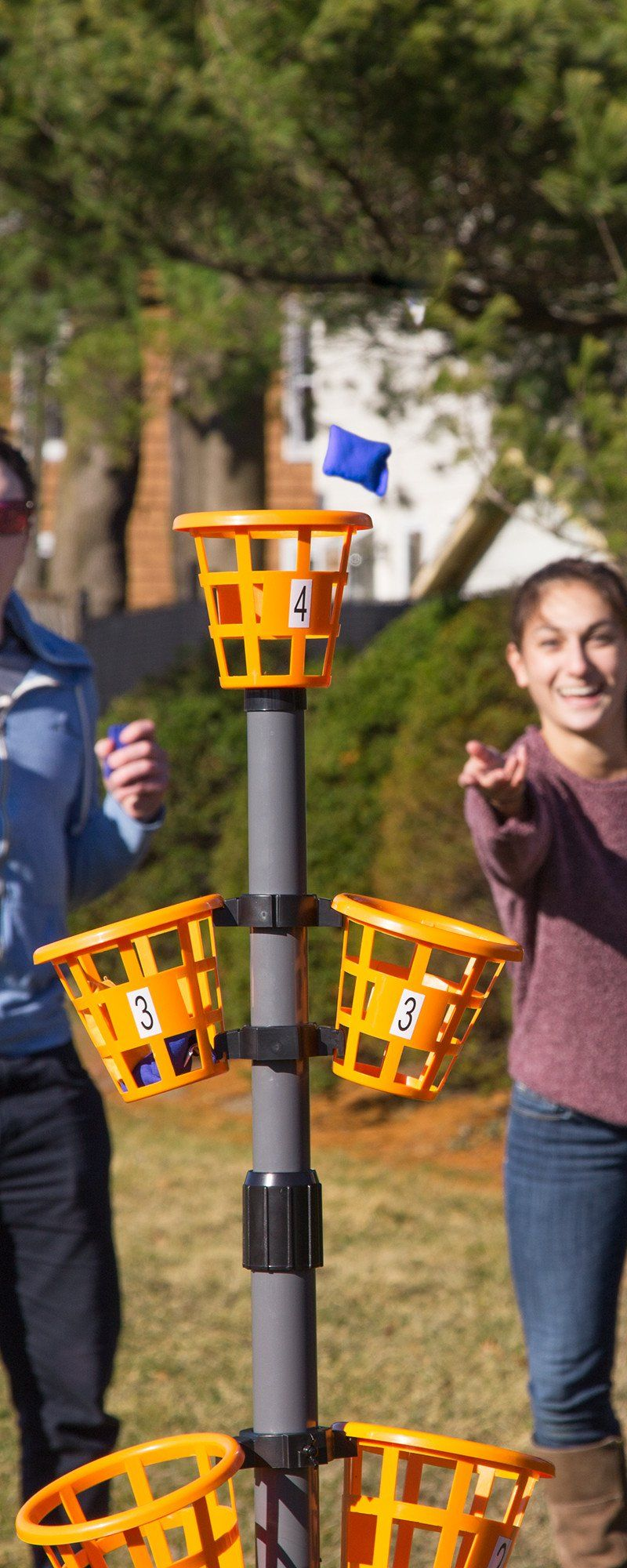 Bean Bag Basket Toss Game Games Camping Games Outdoor