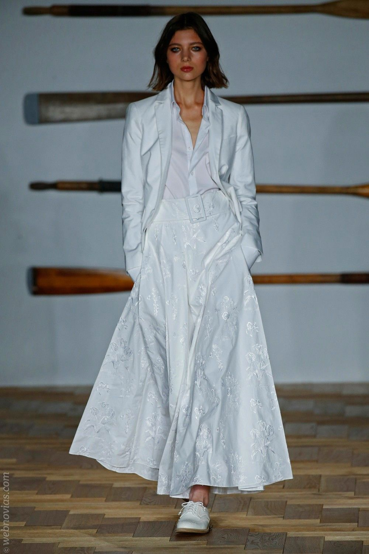 London Fashion Week: inspiración para novias urbanas | Vestidos de ...
