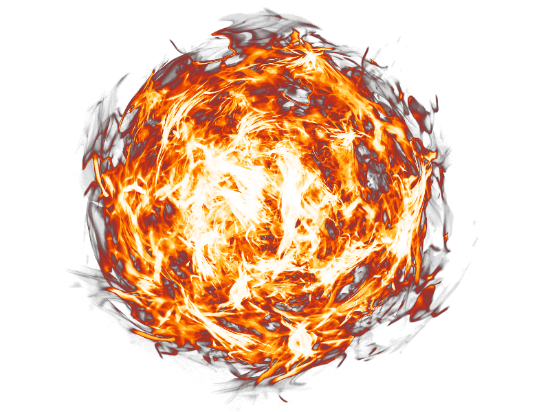 Fireball PNG Transparent Background Free texture