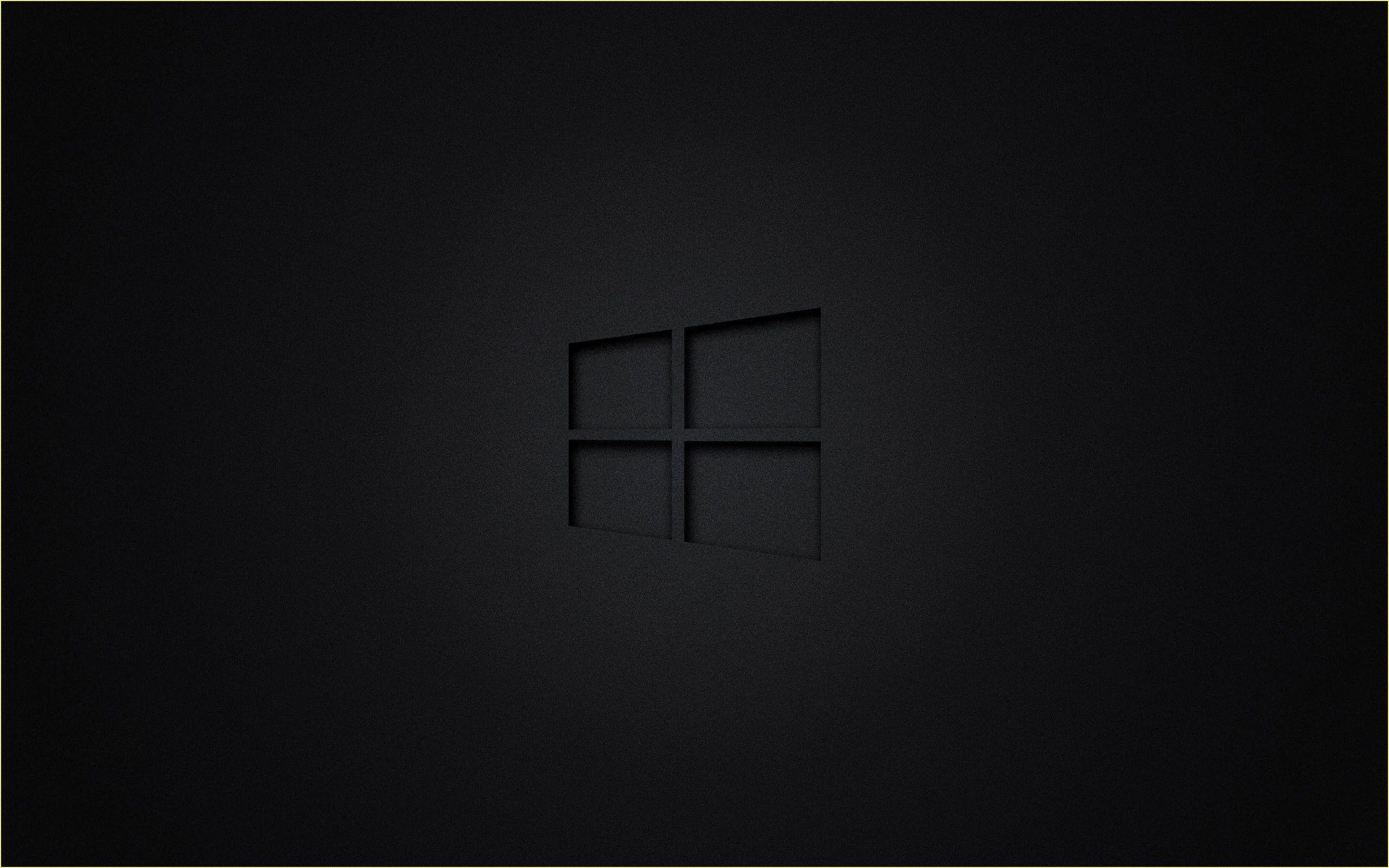 Windows Hintergrundbilder 4k 2020 Wallpaper Windows 10 Desktop Wallpaper Black Hd Dark Wallpapers