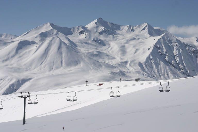 Awesome Gudauri Ski Resort.