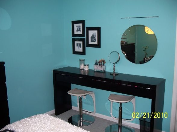 tiffany blue bedroom decorating ideas | Teens Tiffany Blue ...