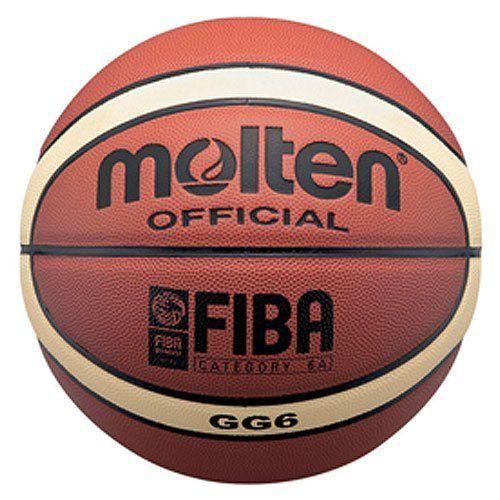 Molten Gg6 Fiba Indoor Composite 28 5 Intermediate Basketball By Molten 67 95 The Molten Gg6 Fiba Indoor Composit Basketball Ball Basketball Fiba Basketball