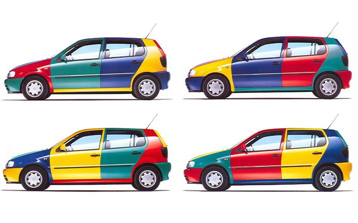 Polo Harlequin Color Combinations | Volkswagen polo, Volkswagen, Volkswagen  golf