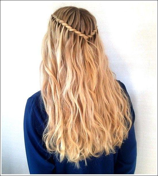 20 Besten Wasserfall Zopf Frisur Ideen Beste Frisuren Wasserfall Frisur Lange Haare Frisuren Lang