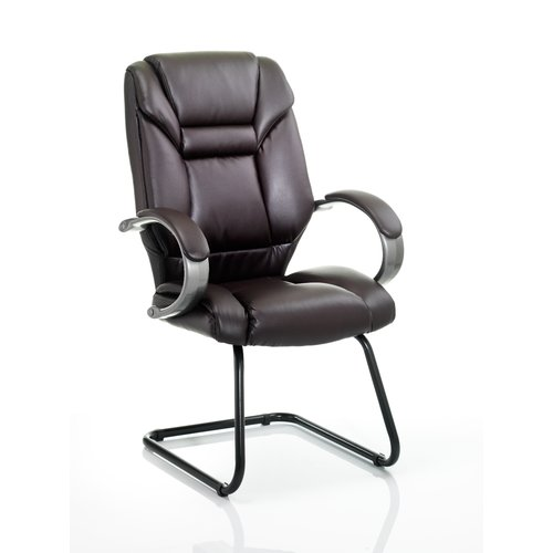 Home & Haus Dublin High-Back Visitor Cantilever Chair In