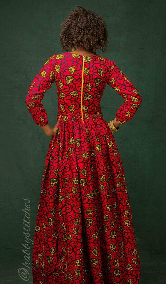 Kiki African Maxi Dress African Dress African Dresses