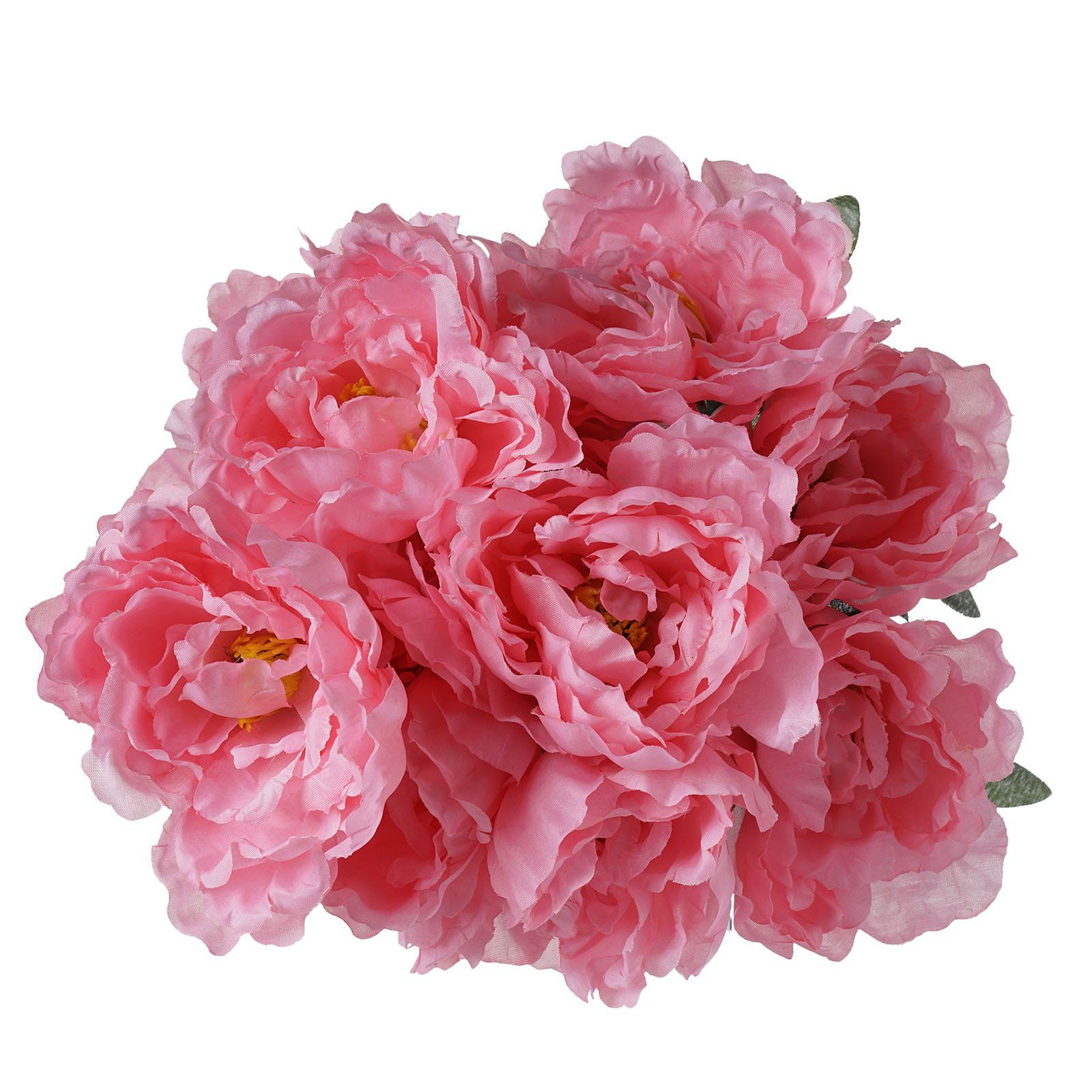 4 Pack Pink Artificial Peony Flower Bridal Bouquet | Pinterest ...