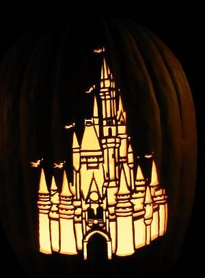 disney-castle-pumpkin-carving-patterns