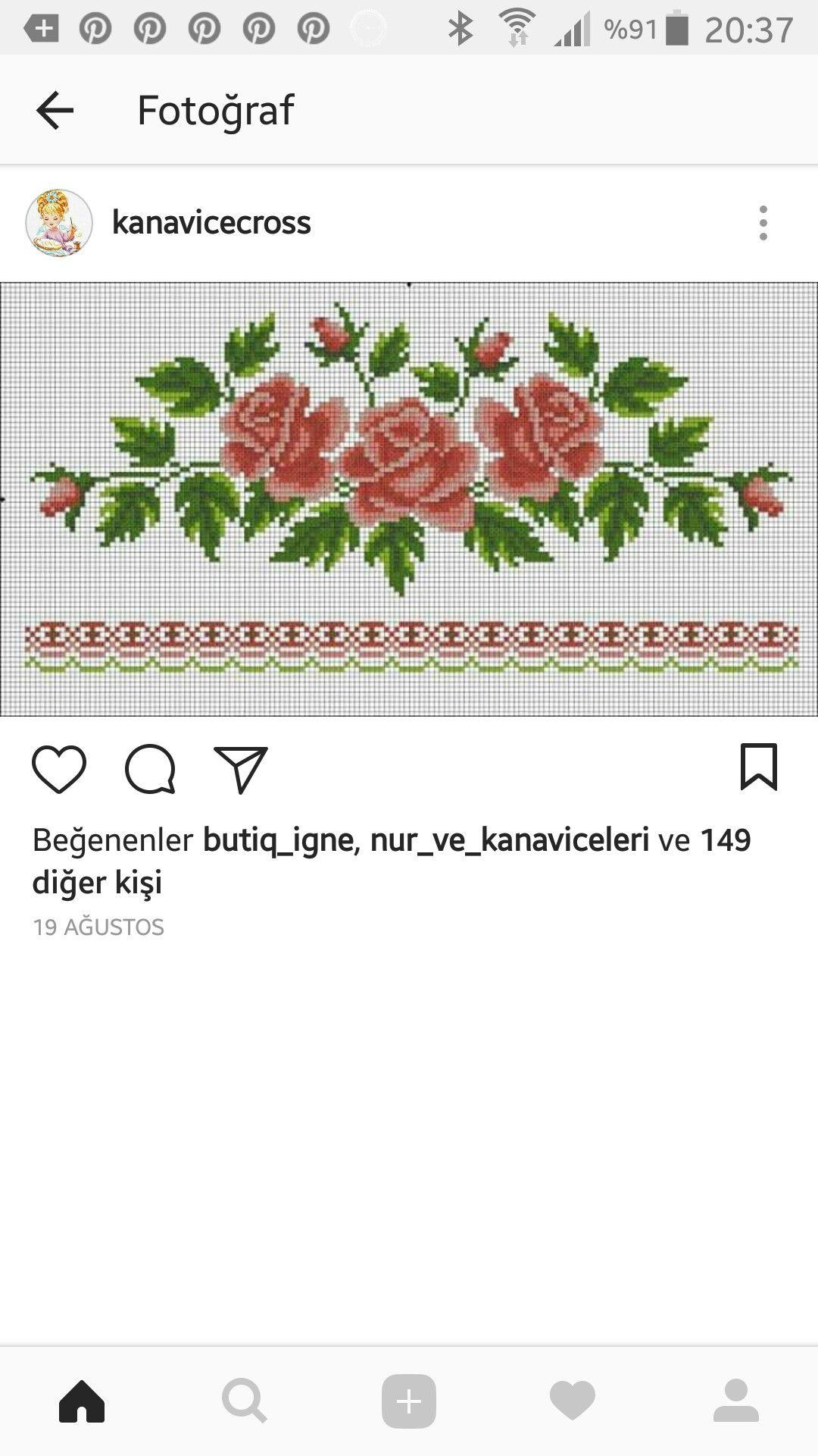 Pin de Şeniz Özbakır en etamin havlu | Pinterest | Cenefas, Toallas ...